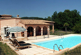 Provencal Getaway, a beautiful 5 bedroom villa with pool available for self-catering holiday rental in Provence, the south of France